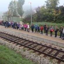 Zbor po iskrcaju iz vlaka